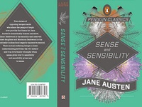 Jane Austen Book Cover Series, Sense & Sensibility