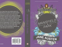 Jane Austen Book Cover Series, Mansfield Park