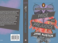 Jane Austen Book Cover Series, Pride and Prejudice