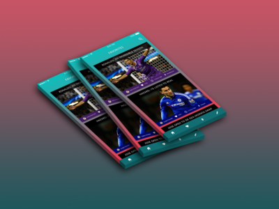 Football News App | Favorite Page