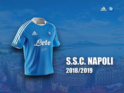 Napoli Football - Jersey Concept italy soccer jersey naples napoli football