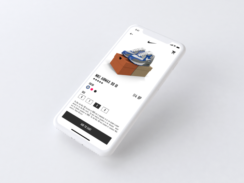 Nike AirMax 90 by Ale on Dribbble