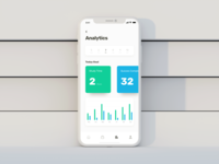 Learning App - Analytics Screen