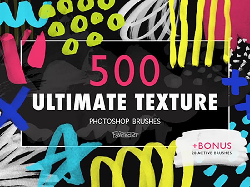Giant Photoshop Brush Pack by Olga Zakharova on Dribbble