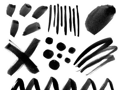 FREEBIE! 14 PS Brushes stamp texture ps brushes ps photoshop brush freebie free