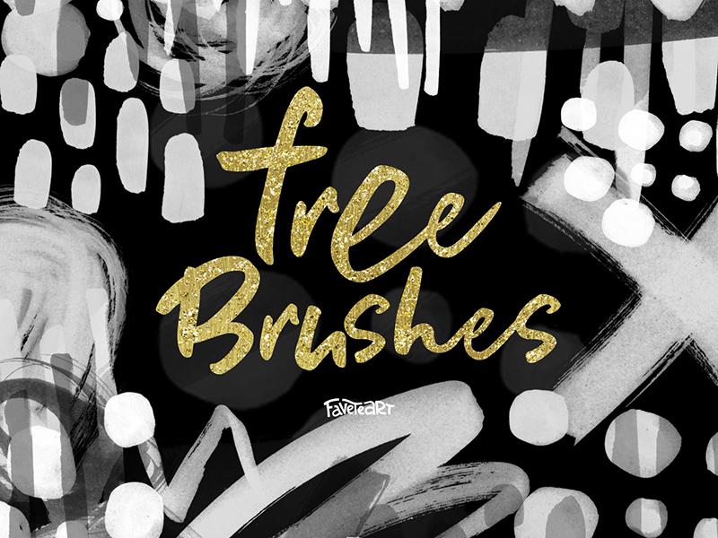 FREEBIE! 14 PS Brushes