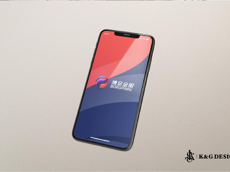 停车场品牌Logo设计-博众金服 brand logo china park