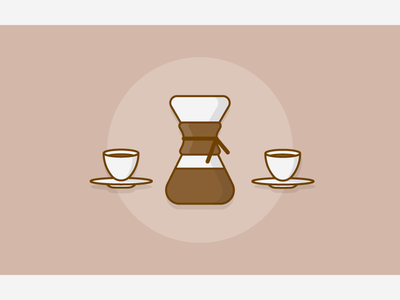 Just chemex coffee preparation coffee chemex