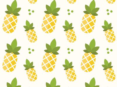 Pineapple Pattern vector fruit pattern pineapple