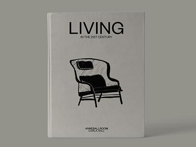 Living book graphic design vietnam branding ui logo art typography hcmc illustration dribbble design