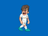 Pixel Gaetano Berardi of Leeds United