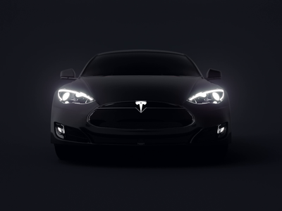 Tesla R&D tesla vehicle ux user experience ui navigation motion interface hmi digital design dashboard cluster cinema 4d car c4d automotive animation after effects 3d