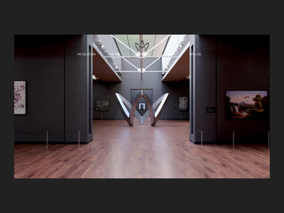 Aspen — Art Site museum of art museum vr art website web deisgn ux ui interaction design interaction digital design cinema 4d c4d art direction animation after affects 3d
