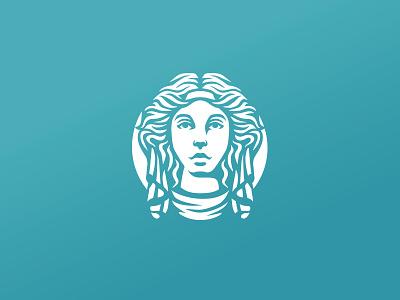 Beauty and health logo design tea coffee luxurious elegant makeup feminism woman feminine female branding logo