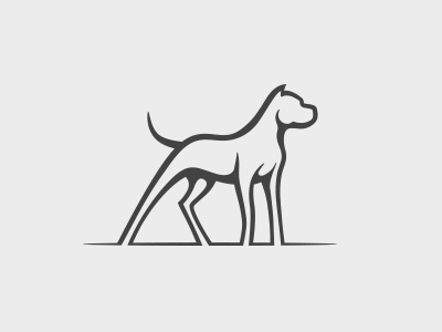 dogo argentino by Mersad Comaga on Dribbble
