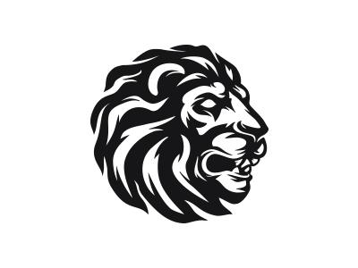 Line Drawing Lion Head : Lion head logo by mersad comaga dribbble