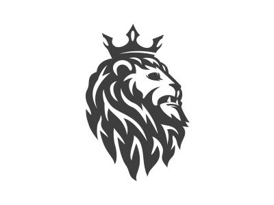 lion king logo by mersad comaga dribbble dribbble