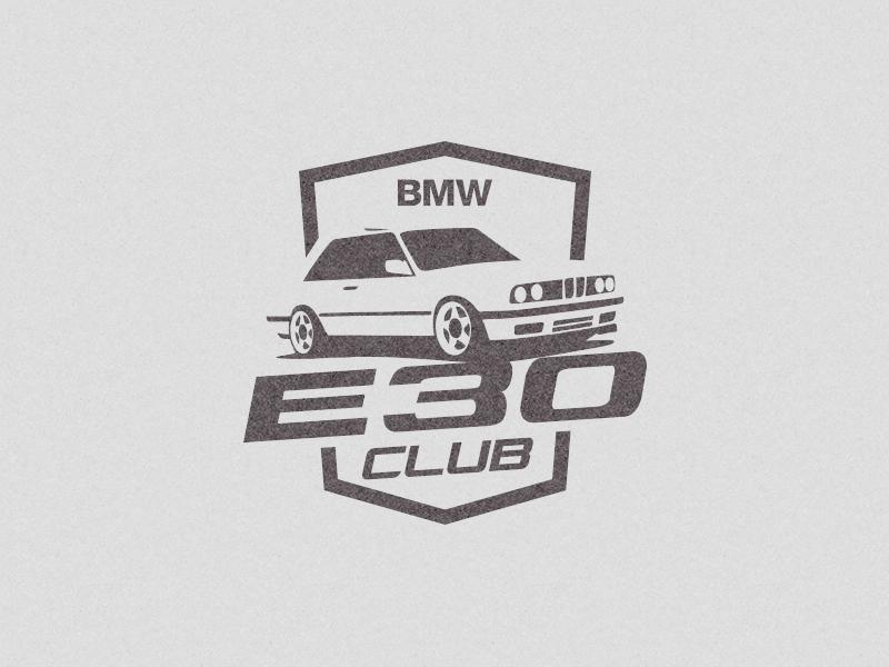 Bmw E30 Club Logo By Mersad Comaga Dribbble Dribbble