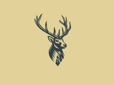 deer logo by mersad comaga dribbble rh dribbble com deer logo design deer logo images