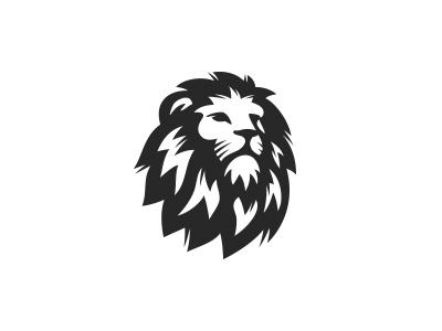 Lion head logo gym fitness sport illustration mascot predator animal mark logo king head lion