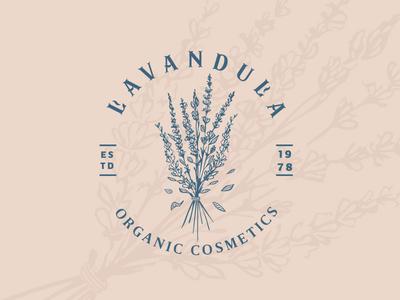 Lavander logo design