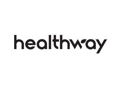 Healthway Logotype logotype custom lettering branding logo custom type type typography lettering