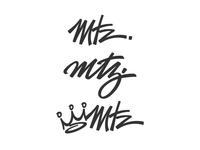 Martinez Wordmarks