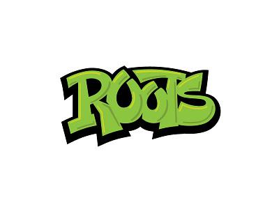 Roots custom type custom lettering graffiti hand lettering lettering
