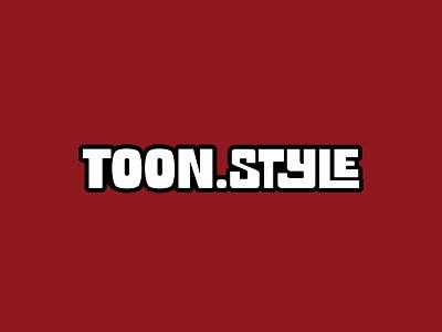 Toon Style custom lettering hand lettered logo branding type typography hand lettering lettering