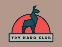 Try Hard Club logo