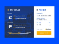 Daily UI :: 002 :: Credit Card Checkout