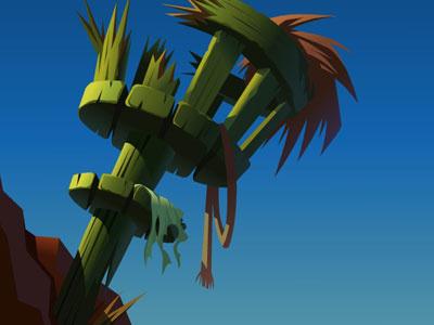 Crows Nest animation illustration