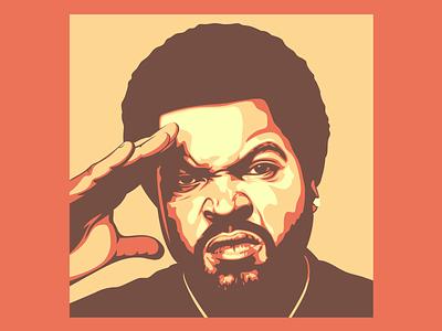 Ice Cube logo branding design ice cube graphicdesign illustration design illustration vector illustration vectorart vector
