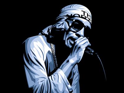 Del the Funky Homosapien vectorart 2-d digital painting branding vector illustration design vector graphicdesign illustration hiphop