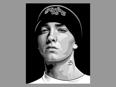 Eminem illustration vectorart vector illustration graphicdesign design illustraion illustrator vector eminem