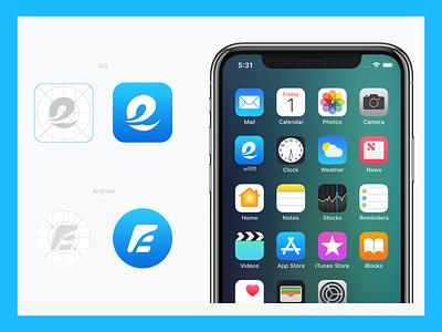 equickplay2 logo design ui app