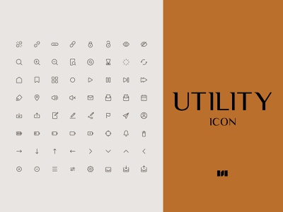 Utility icon line app branding website utility vector icons ui icon