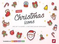 Free! Christmas icons
