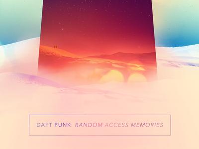 Random Access Memories - Daft Punk music albums posters bands ram daft punk