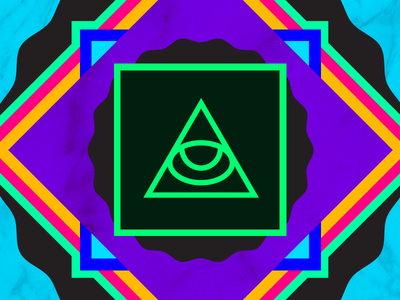 Eye-Dye 2013 pattern triangle colors