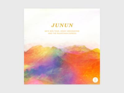 Junun covers music album art 2015 album