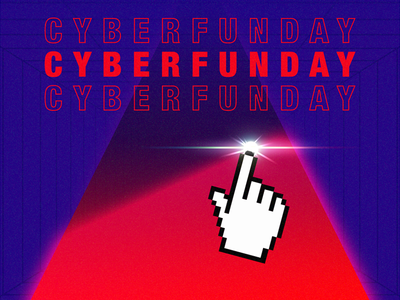 Cyber Funday pointer grid cool cyber computer