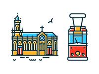 Iron Church & 2nd Nostalgic Tram