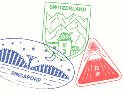 Monocle Visa Stamps 01