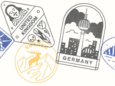 Monocle Visa Stamps 02