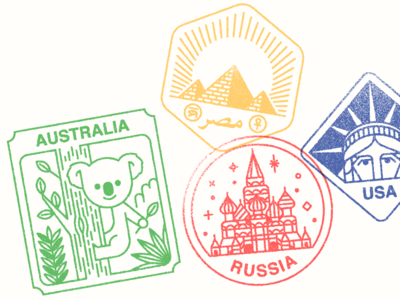 Monocle Visa Stamps 03