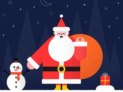 Happy New Year snowman christmas xmas new year noel santa