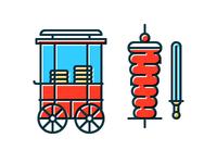 Simit Cart & Doner Kebab