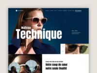 👓 Optician homepage