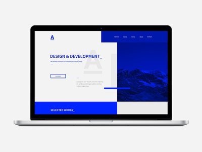 A -Team portfolio a-team homepage agency website